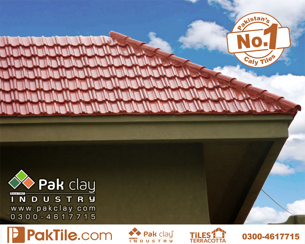 1 Pak clay glazed ceramic roof products shingles khaprail tiles colors price per square foot shop in lahore pakistan images