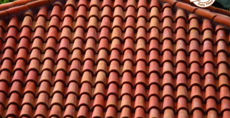 10 Pak clay khaprail design house roof shingles products glazed colors roofing tiles rates images