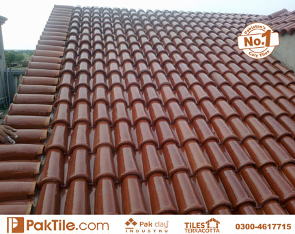11 Pak clay terracotta roof shingles khaprail tiles rates sloping shed house design pakistan images