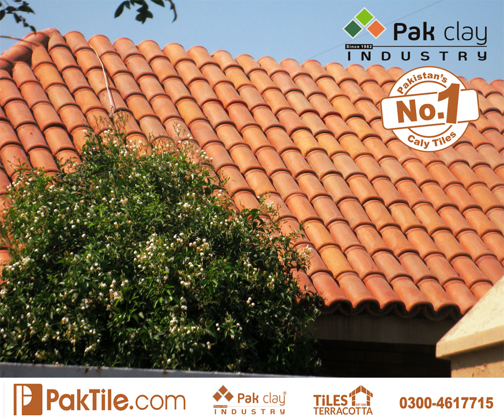 12 Pak Clay beautiful best wood look shingle roof khaprail tiles dsign factory mart market rates in lahore karachi pakistan