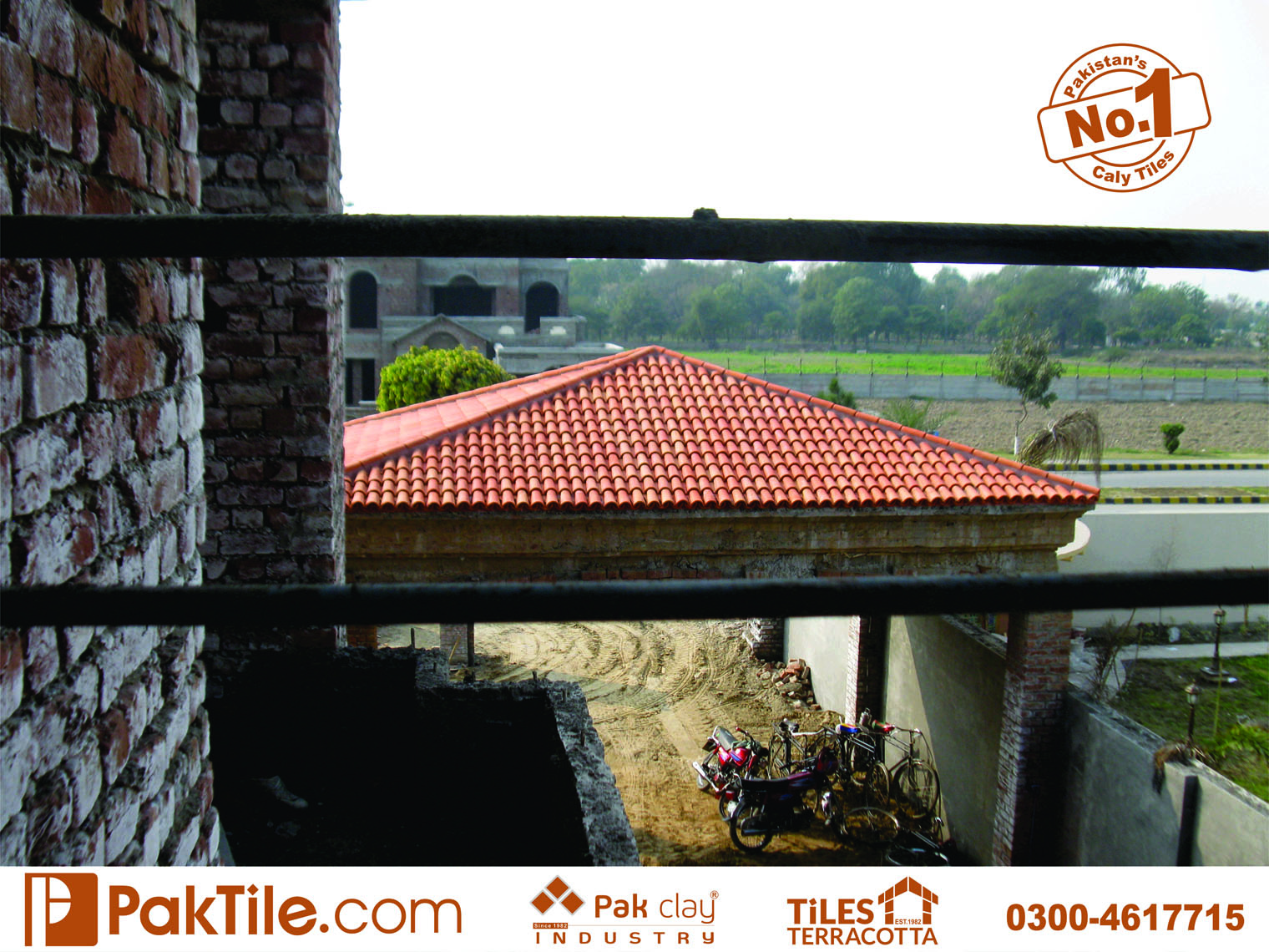 12 Pak clay khaprail house design porcelain shingles ceramic roofing tiles price in pakistan images