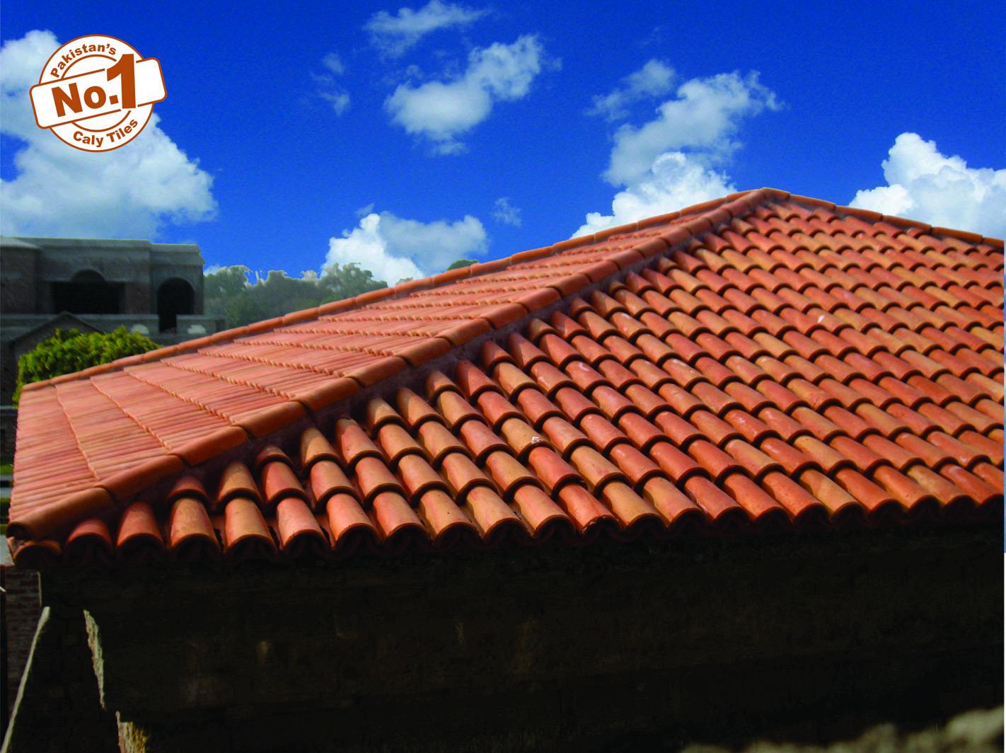 16 Pak clay terracotta bricks heat resistant cool irani roofing shingles khaprail tiles rates in pakistan