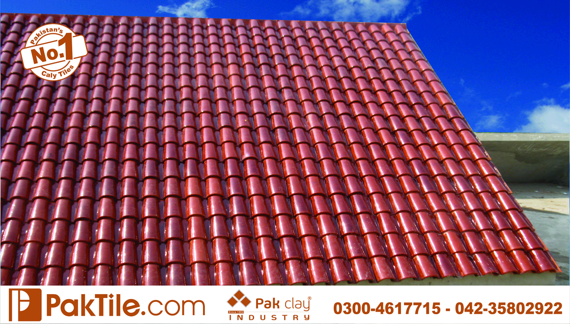20 Pak clay terracotta glazed khaprail roof shingles products irani tiles textures in karachi images