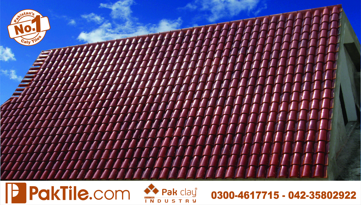 22 Pak clay brown shiny glaze gloss roofing shingles products tiles colors rates in karachi images