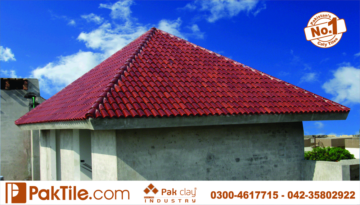 24 Pak clay terracotta stone granite ceramic roof tiles price per square foot islamabad images