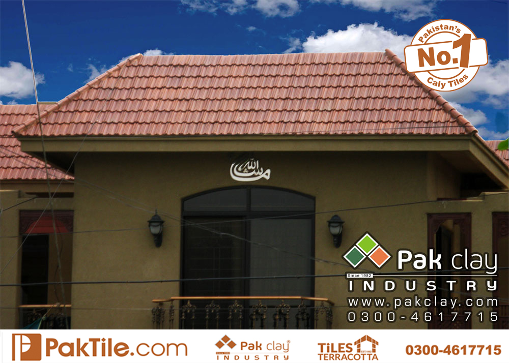 3 Pak clay brown glazed colour ceramic roof products shingles khaprail tiles price per square foot lahore images