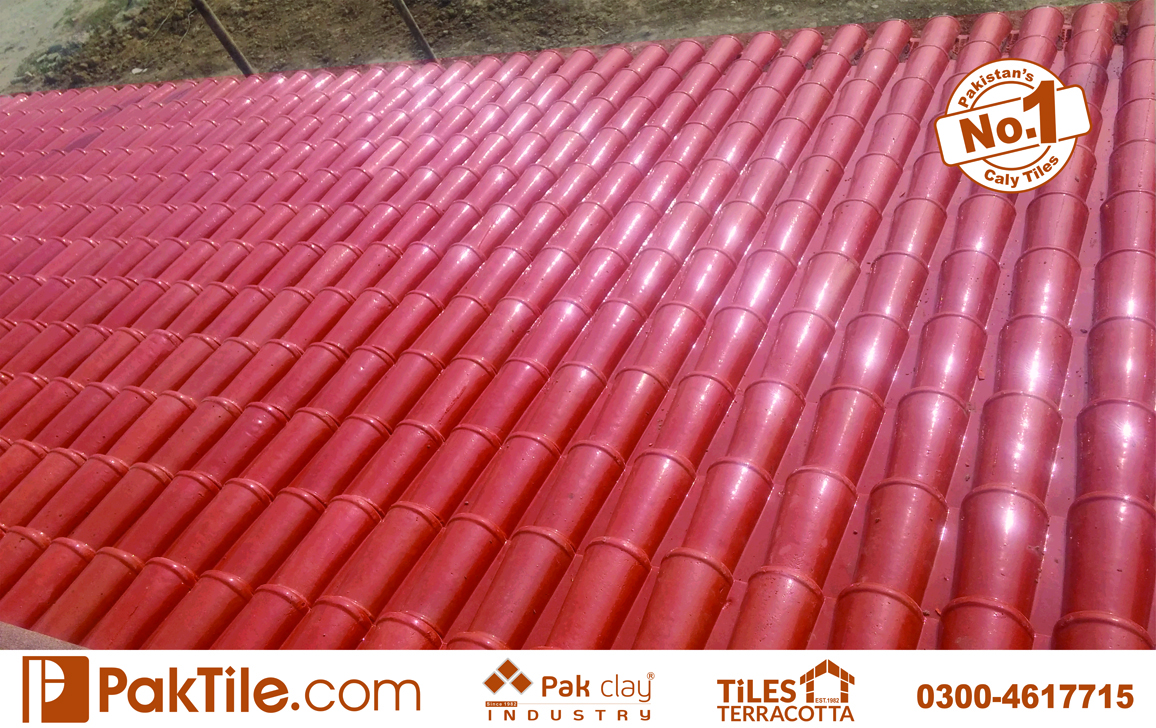 30 Pak clay heat resistant cool roof products shingles khaprail tiles designs price in lahore images