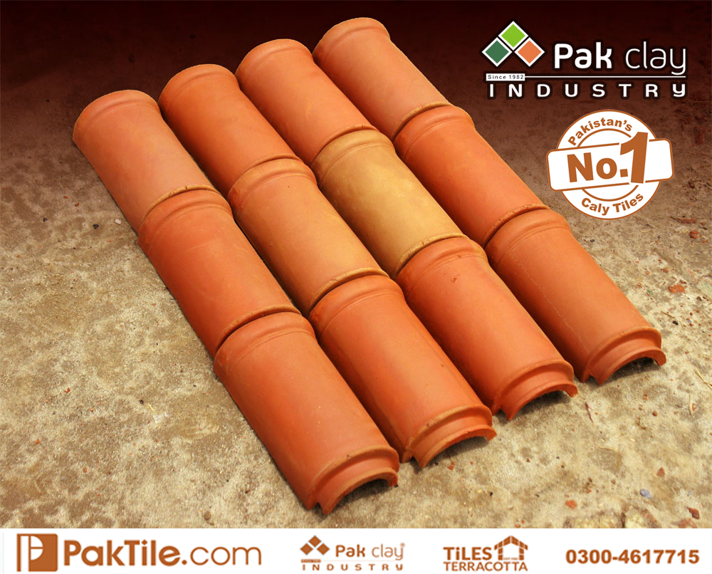 4 Pak clay terracotta roof khaprail tiles manufacturer and supplier low price different colors types pictures in rawalpindi pakistan