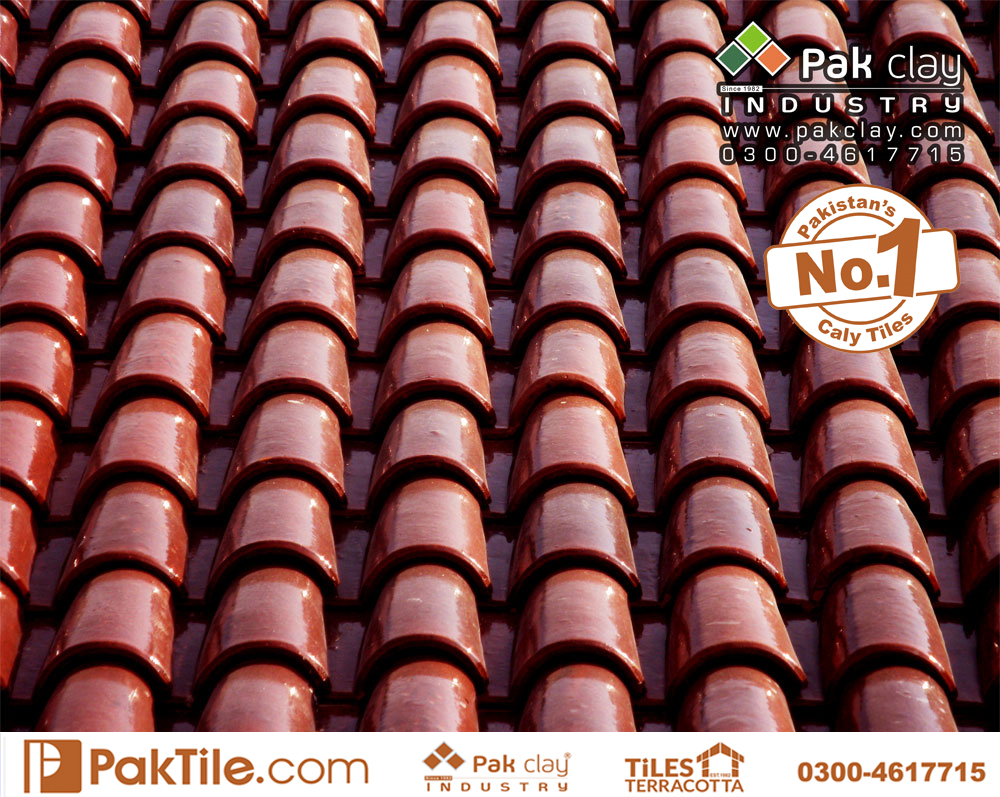 4 Pak clay terracotta roof materials ceramic tiles design low price per square foot images