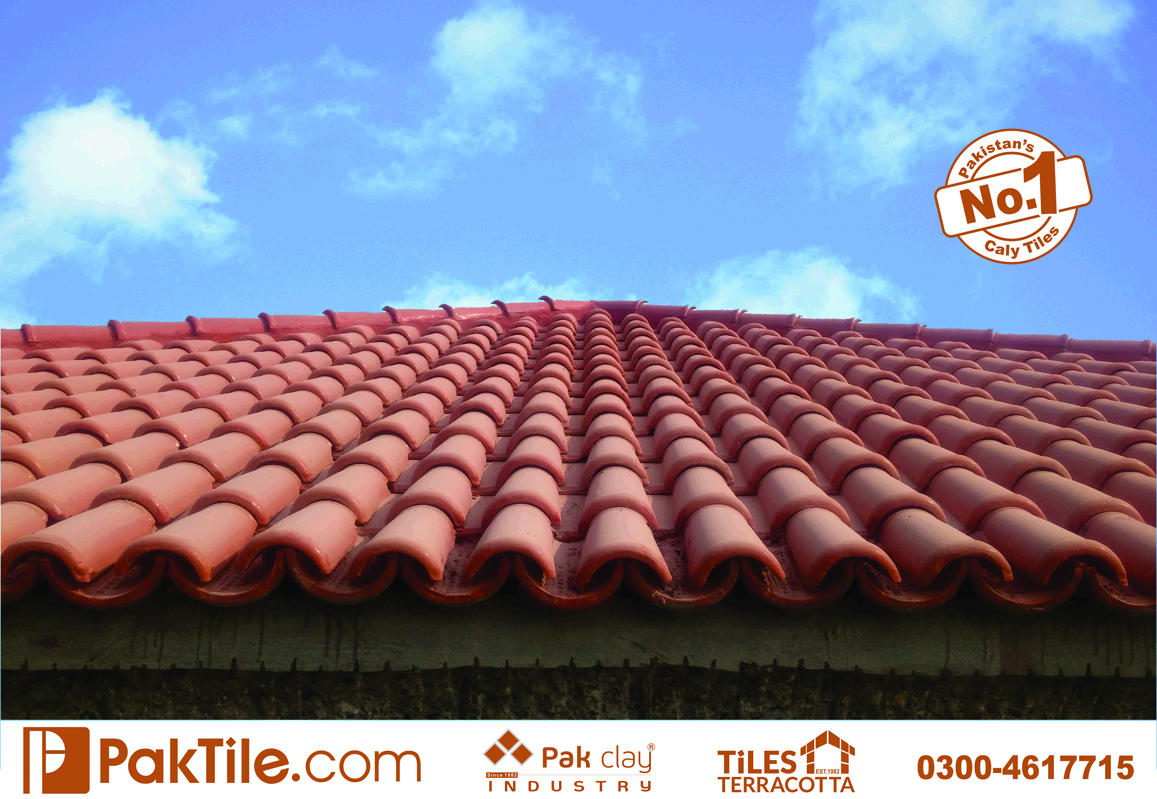 43 Pak clay glazed ceramic roofing khaprail tiles price per square foot in lahore pakistan images