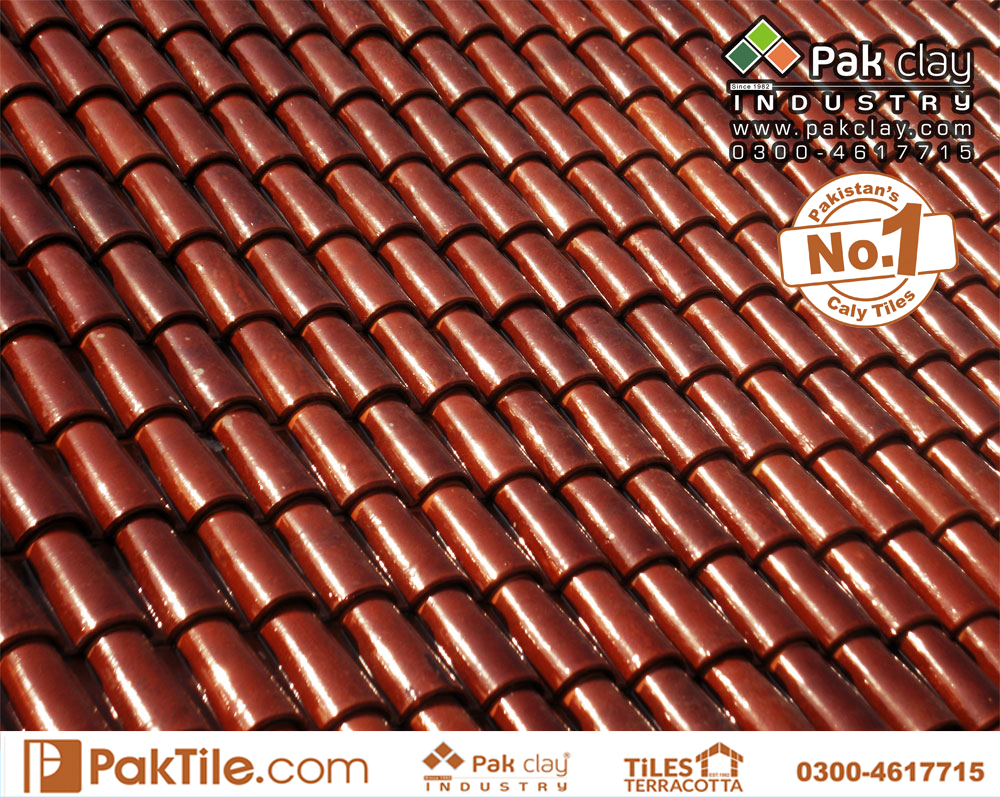 Spanish Interlock Tiles 9″ – Pak Clay Tiles