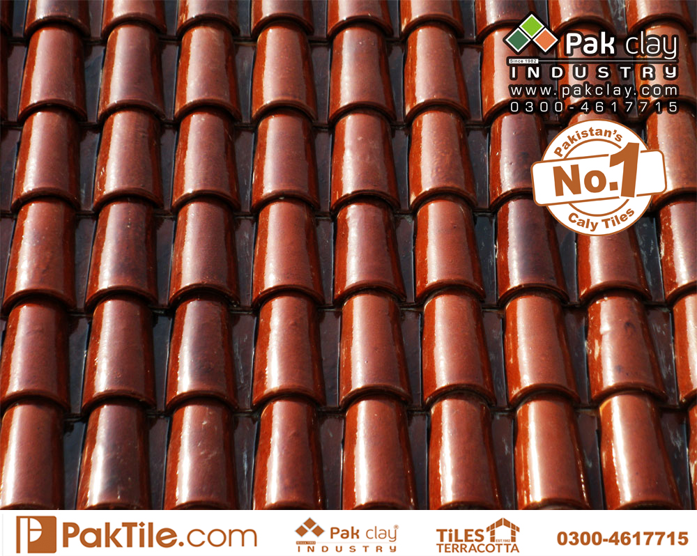 5 Pak clay irani ceramic roof khaprail shingles different colors types tiles rates in pakistan