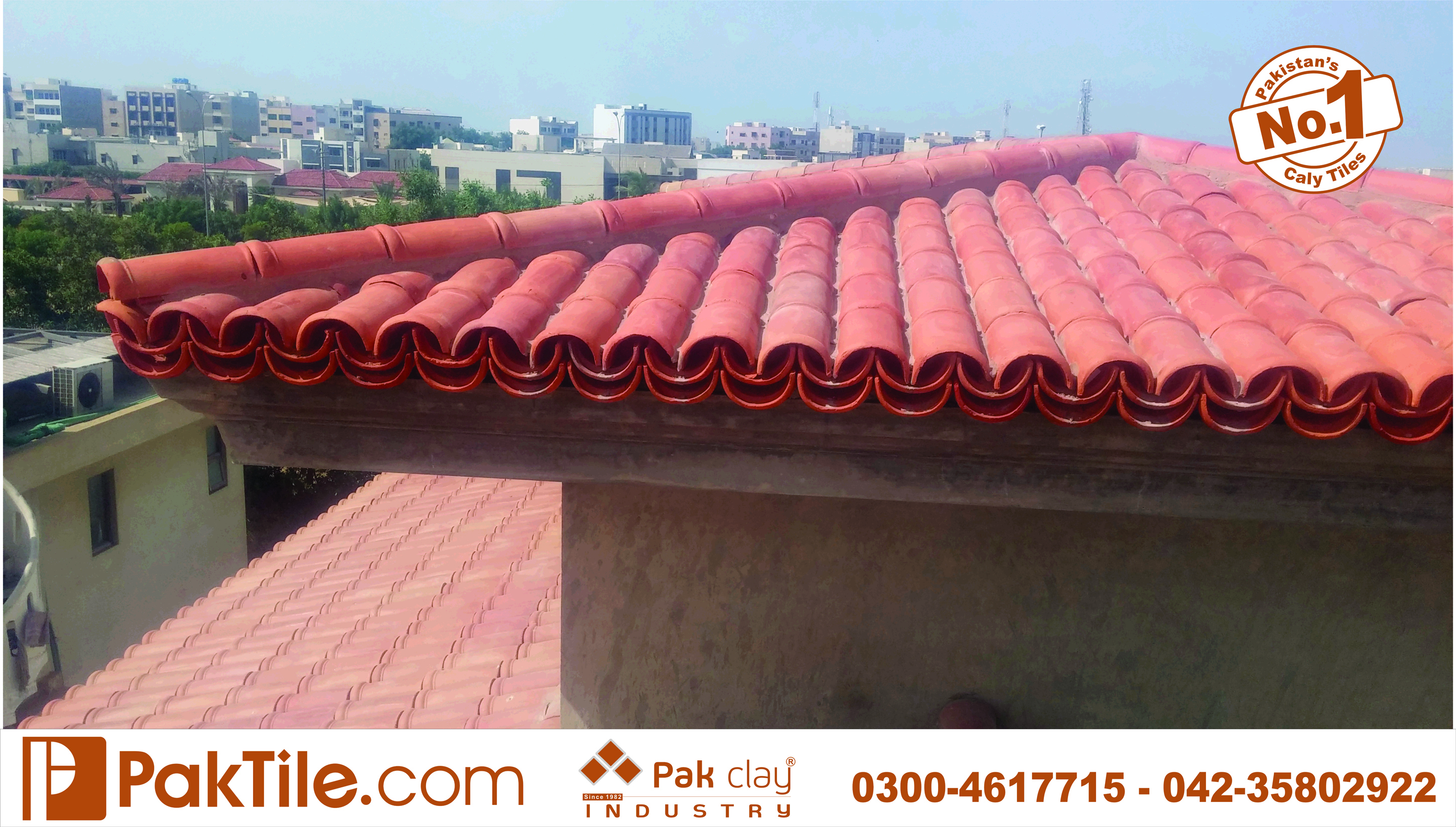 Buy factory online shop colorful ceramic white khaprail roof tiles low price house design in dha karachi images