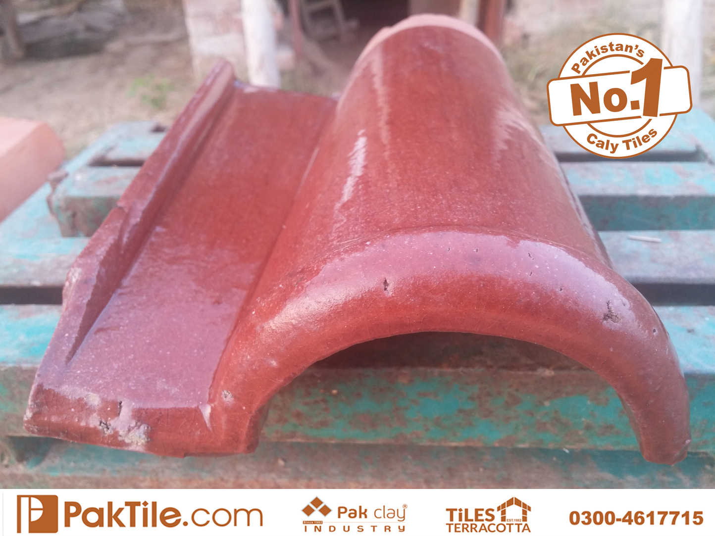 1 Buy Shop Online Spanish Clay Roof GlazedKhaprail Roof Tiles Design Store in Lahore Pakistan Images