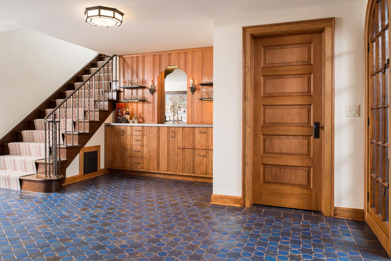 Glazed Porcelain Mosaic Floor Tiles For Indoor
