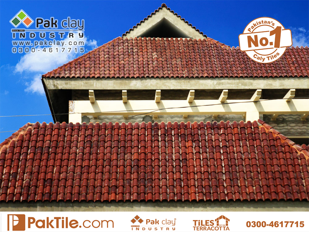 5 Pak Clay shingles materials red colors ceramic roof khaprail tiles price per square foot factory outlet in faisalabad images