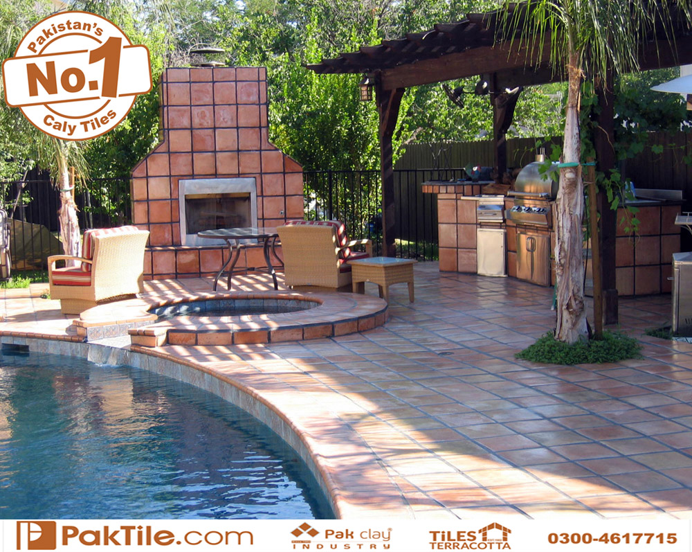 6 Pak clay industry black glass swimming pool deck tiles design blue colors shop prices near me in lahore karachi images