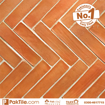 House porcelain red bricks and yellow wall gutka boundary tile design prices ideas in pakistan images