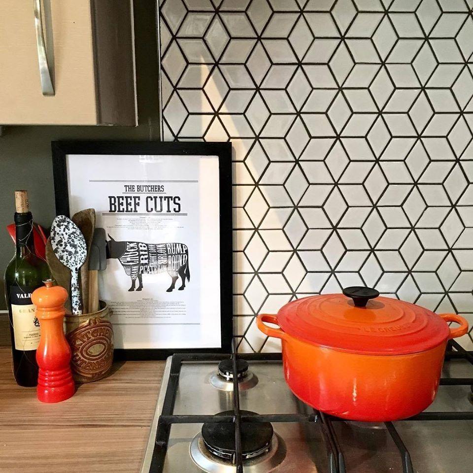 Kitchen wall ceramic multani tiles in lahore