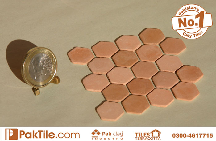 Natural Terracotta pink colour cool bricks insulation boundary wall facing tiles pakistan images