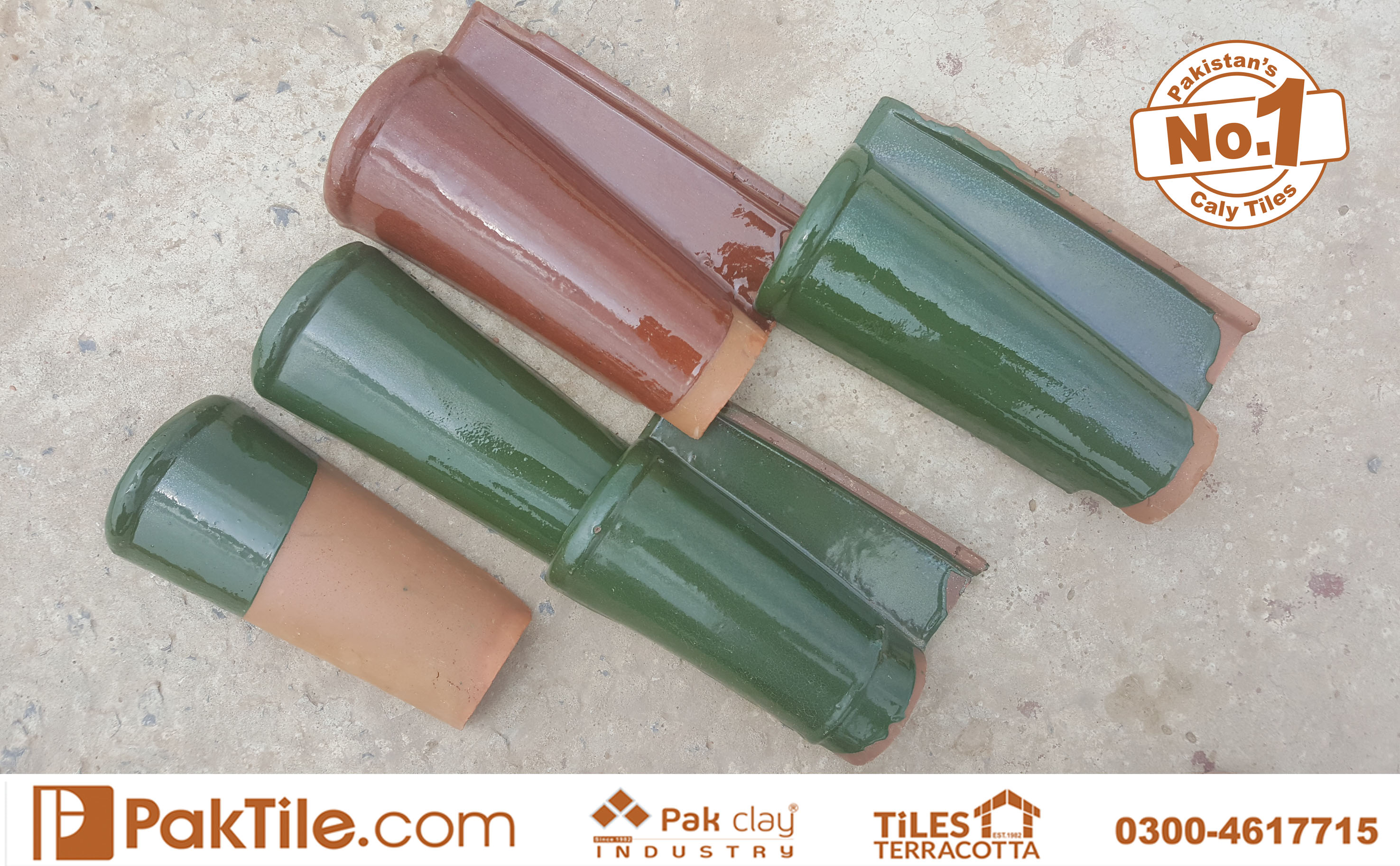 2 Best Quality Terracotta Glazed Khaprail Roof Tiles Textures Types and Rates in Lahore Pakistan Images