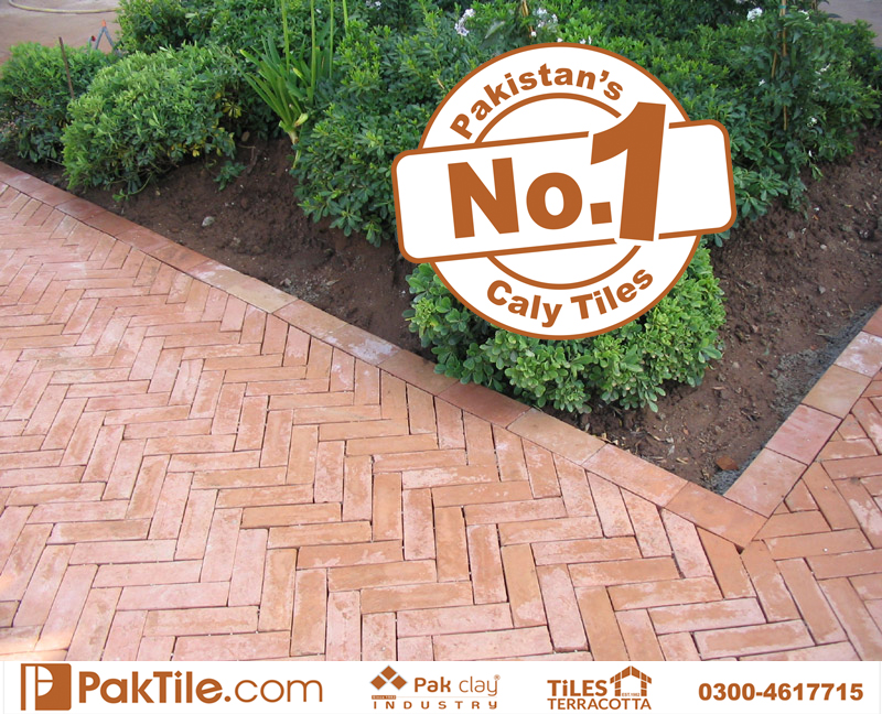 2 Pak Clay Industry Home Best Natural Gutka Bricks Terracotta Floor Tiles Textures in Islamabad Images