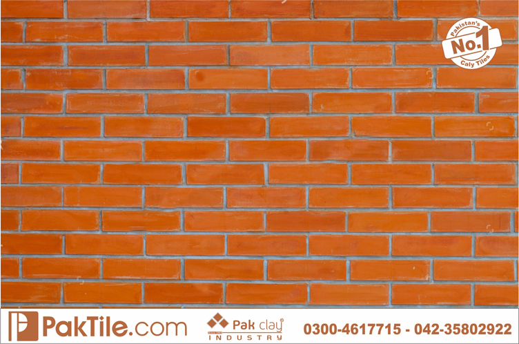 2 Red Gas Bricks Front Wall Face Tiles Designs Shop Prices in Rawalpindi Islamabad Pakistan Images