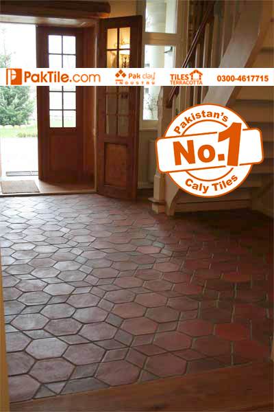 3 Indoor Red Brick Terracotta Flooring Mosaic Tiles Patterns Rates in Lahore Pakistan Images