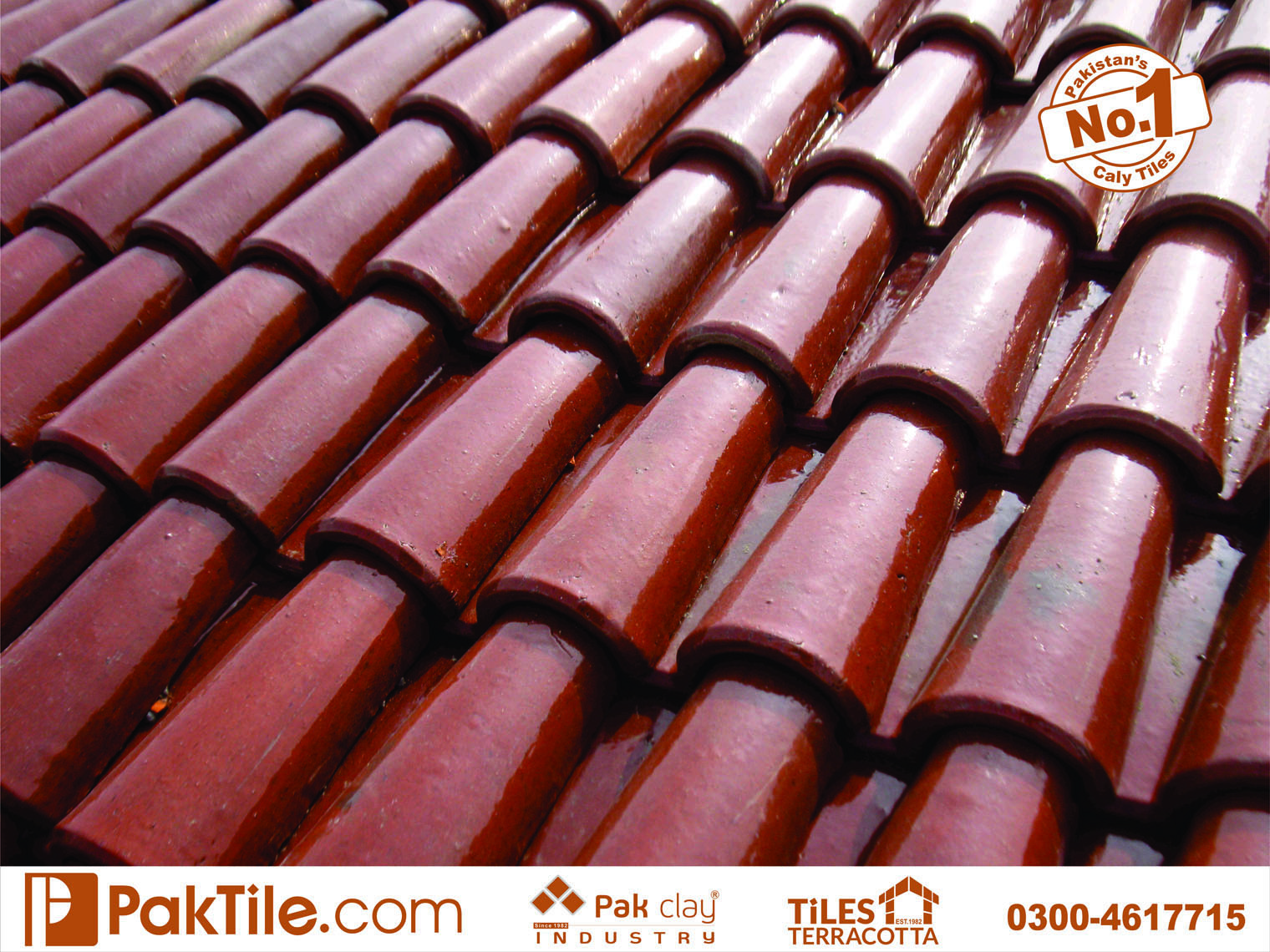 3 Natural Glazed Different Colours Khaprail Roof Tiles Size Types and Prices in Karachi Pakistan Images