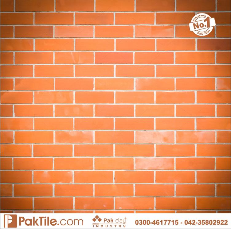 3 Red Gas Bricks Home Front Wall Facing Tiles Design Rates in Faisalabad Multan Pakistan Images