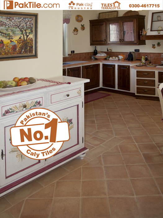 4 Anti Slip Commercial Kitchen Marble Look Terracotta Floor Tiles Design Prices in Lahore
