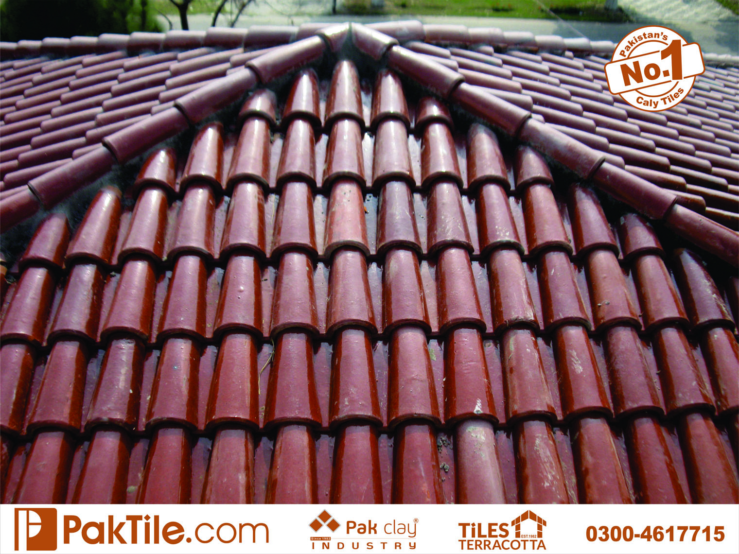 4 High Quality Natural Glazed Khaprail Roofing Tiles Patterns Types and Price in Rawalpindi Pakistan Images