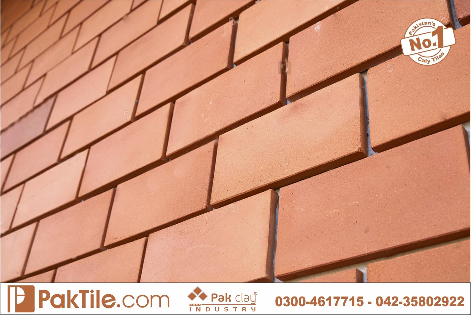 4 Red Gas Brick House Exterior Interior Wall Facing Facade Tiles Textures Price in Pakistan Images