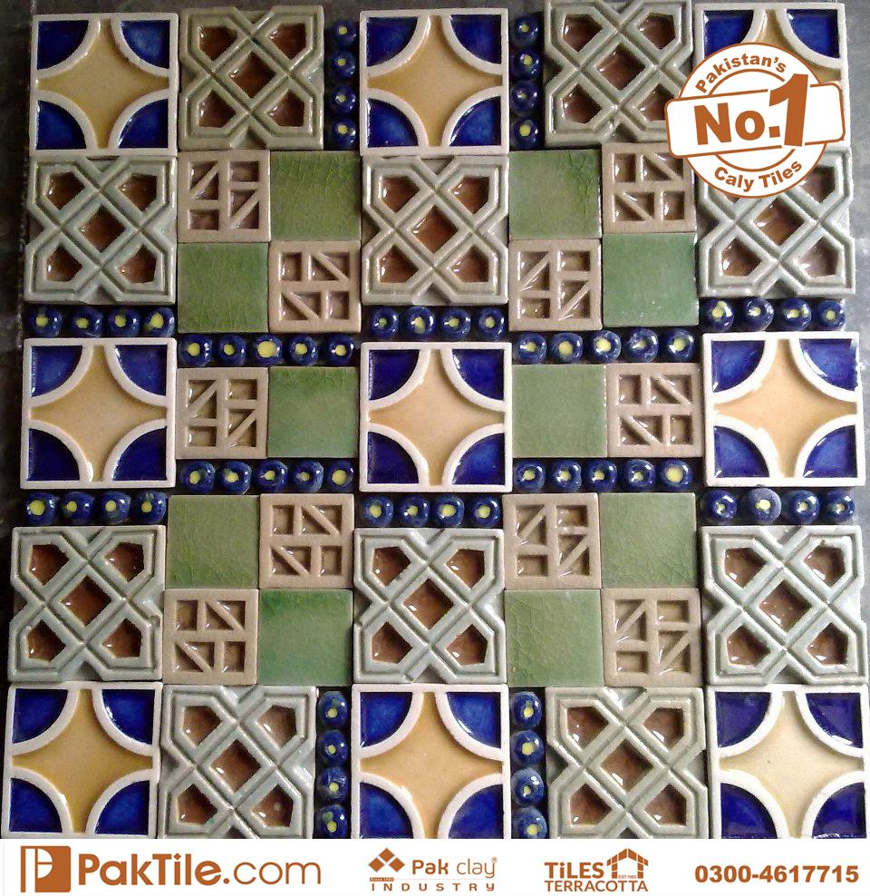 Pak clay Different types ceramic mosaic floor tiles blue colours design price in lahore karachi images