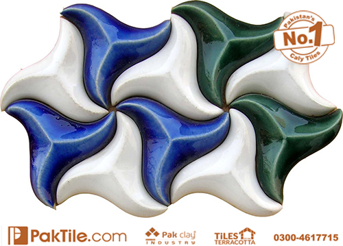 Pak clay buy marble effect ceramic mosaic floor tiles blue colours design price in pakistan images