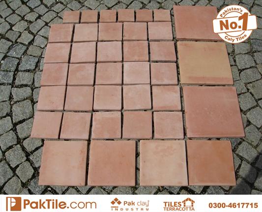 1 Pak Clay Granite Look Natural Red Bricks Floor Tiles Design and Price in Pakistan Images