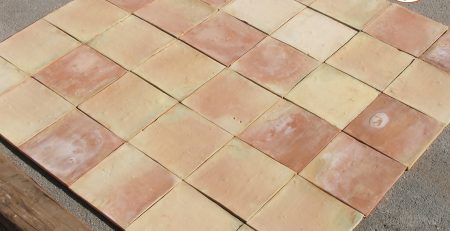 2 Pak Clay Square Shape Red Bricks Flooring Tiles Design and Price in Lahore Images