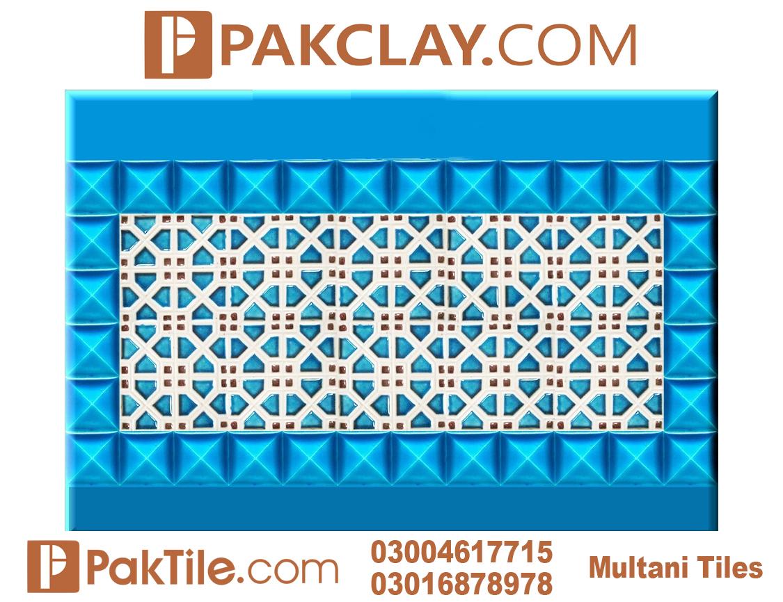 Pak Clay Mosaic Wall Tiles Price Blue Pottery Multan