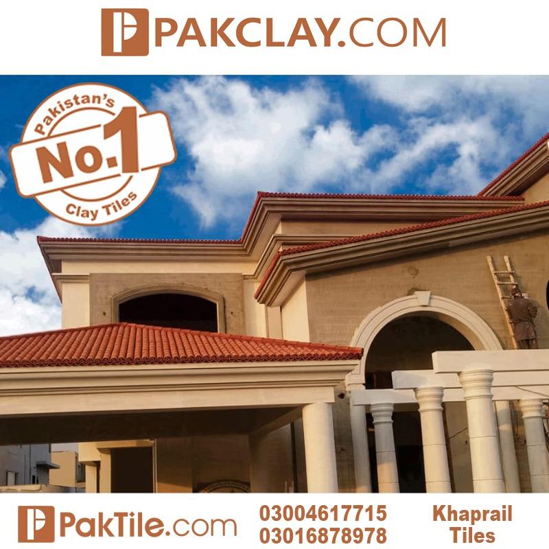 Modern Khaprail Tiles House Design