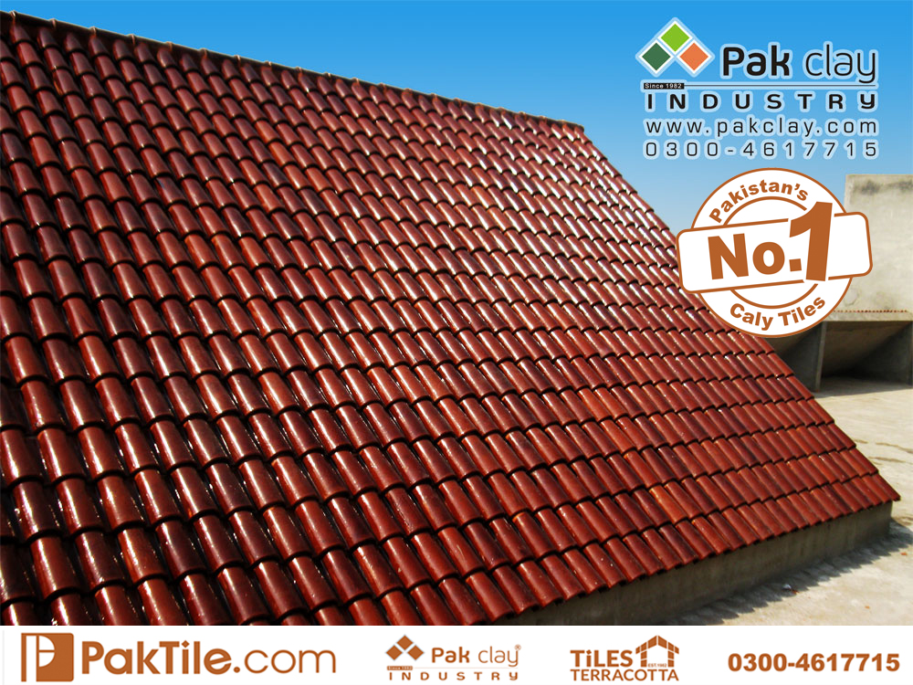 Pak clay glazed ceramic khaprail roof tiles in english khaprail tile rawalpindi shop available images