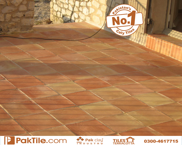 4 Pak Clay Natural Red Color Flooring Tiles Traditional Tiles Pakistan Terracotta Outdoor Floor Tiles Price in Pakistan Images