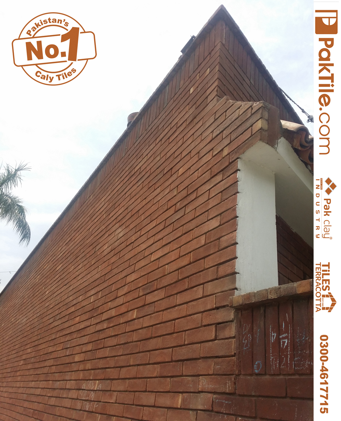 Pak Clay Red Gutka Brick Tile Texture Rate in Lahore Pakistan Home Front Face Tiles Design Images