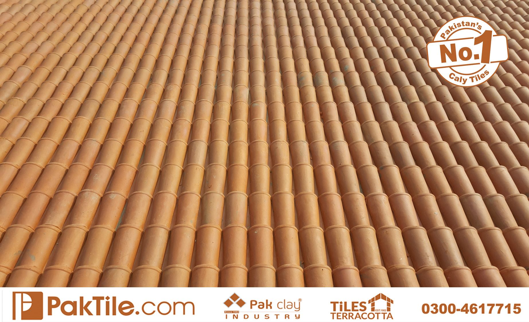 7 Pak Clay Terracotta Khaprail Clay Roof Tiles in Pakistan Images.