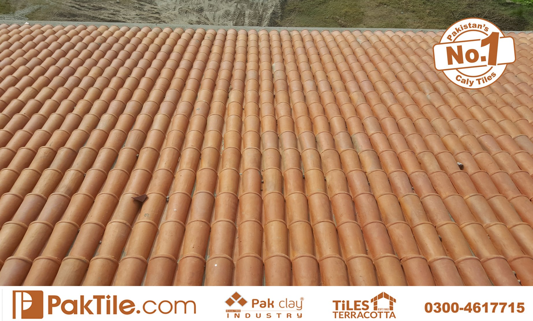 8 Pak Clay Slope Shed Roofing Materials Khaprail Tiles in Pakistan Images.