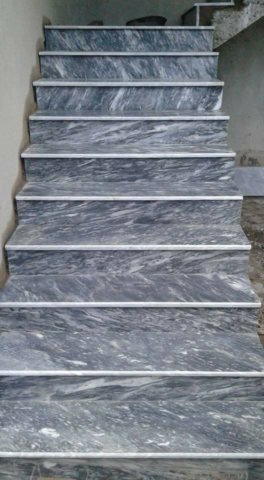 Pak Tiles Marble Stair Design in Pakistan