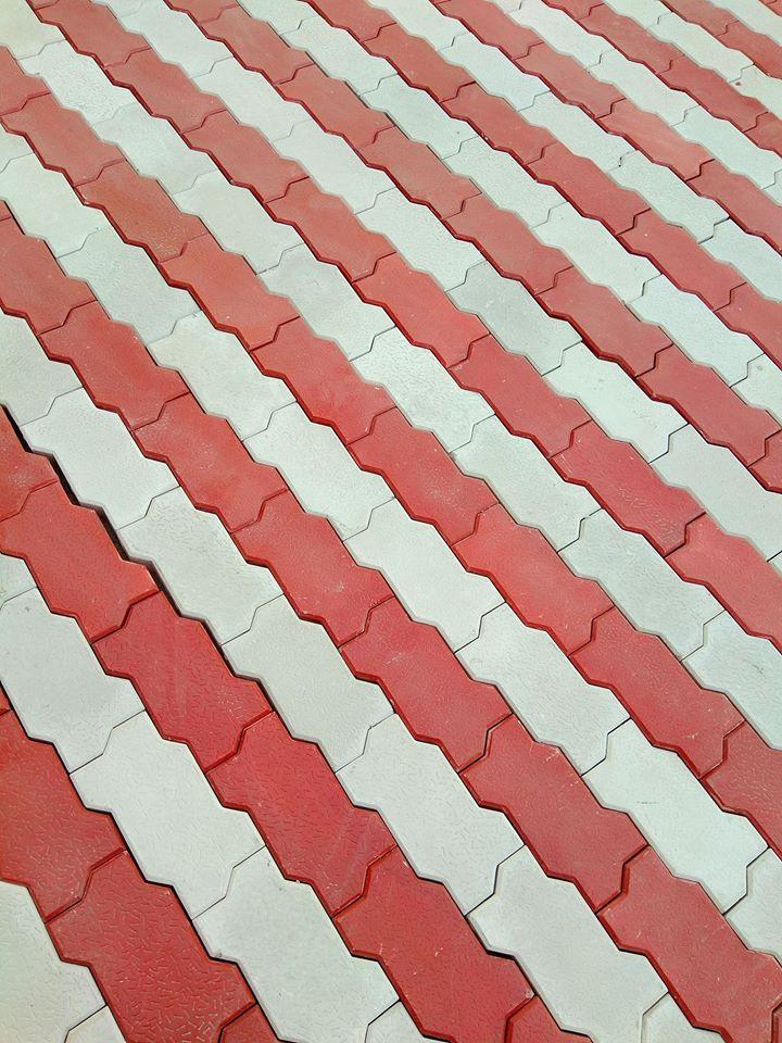Precast Pavers Tuff Tiles Design in Pakistan