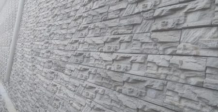 Grey front exterior wall tiles prices in pakistan face tile design in pakistan