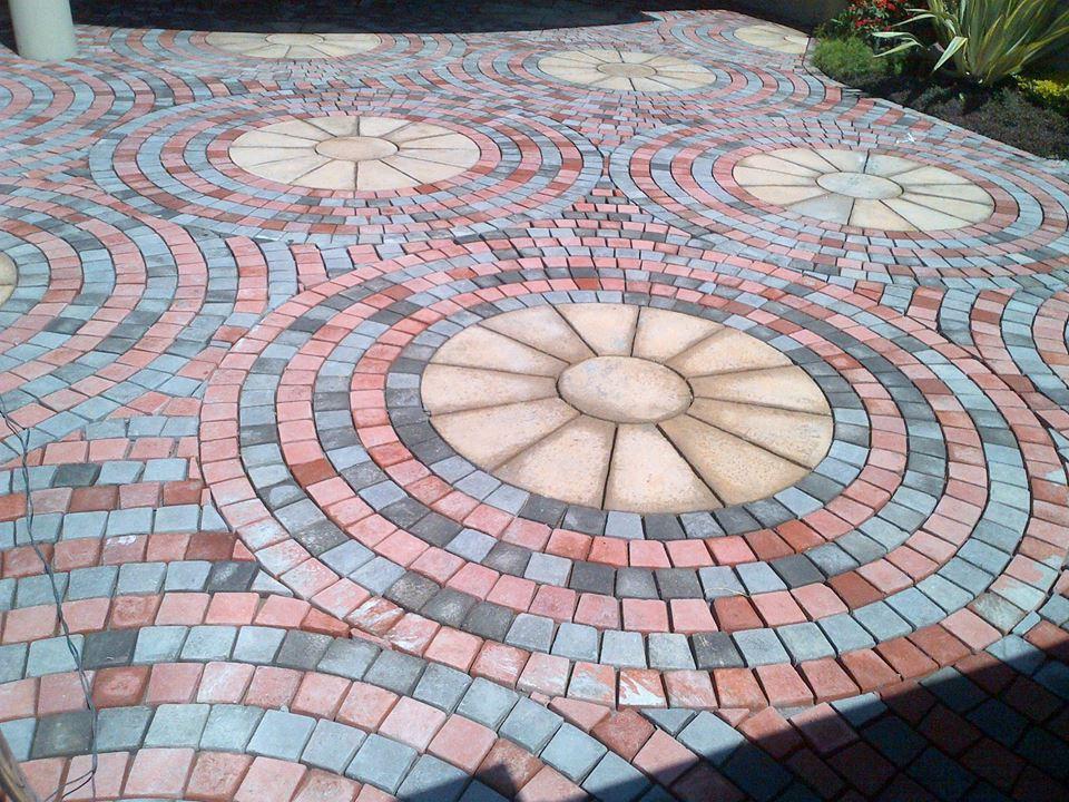 House Main Gate Ramp Tiles Design in Pakistan are porcelain tiles slippery