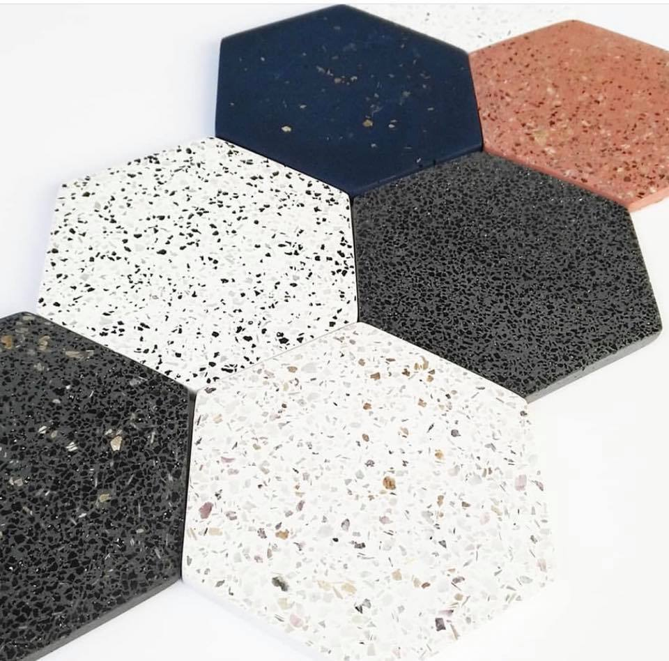 Pak hexagon terrazzo flooring tiles price in lahore pakistan