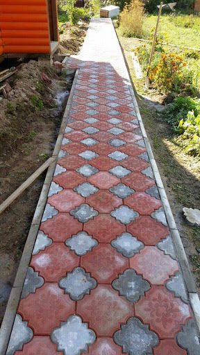 10 red and grey tuff tiles price in multan